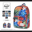 《熊熊先生》7折優惠 潮流品牌Herschel素色/花色雙肩包 大容量 10492 後背包 學生書包 輕量帆布包