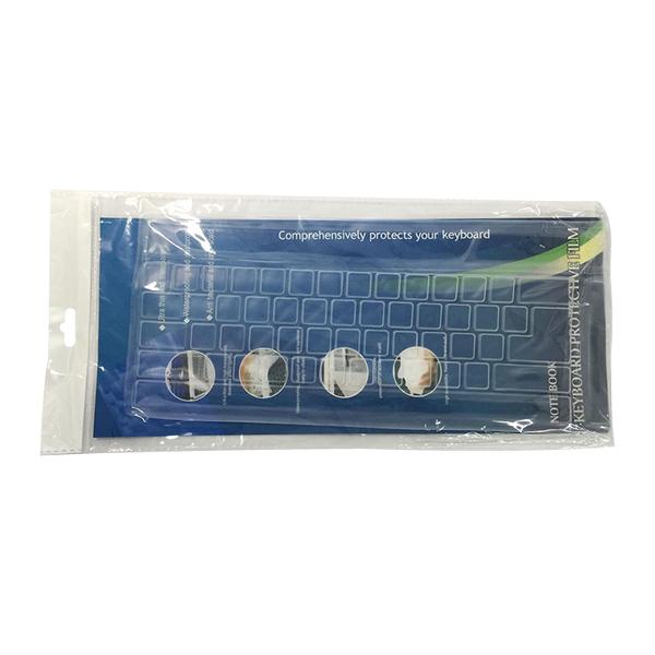 桌上型電腦鍵盤矽膠保護膜 可清水洗 透明鍵盤膜 防塵膜 鍵盤套 鍵盤蓋【FA000】《約翰家庭百貨
