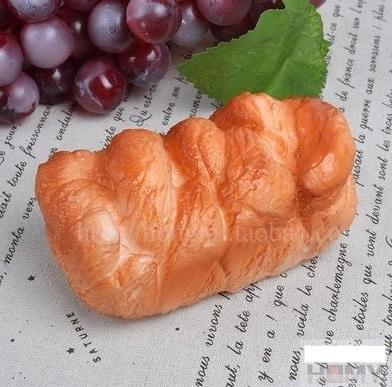 [協貿國際]仿真PU小方塊麵包模型