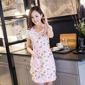 廚房圍裙 時尚可愛公主家居圍裙加厚圍裙  zm1187『男人範』