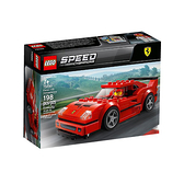 75890【LEGO 樂高積木】賽車系列 Speed-法拉利 Ferrari F40 Competizione(198pcs)