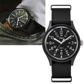 TIMEX 天美時(TXTW2R37400) MK1 軍錶 手錶/黑/40mm