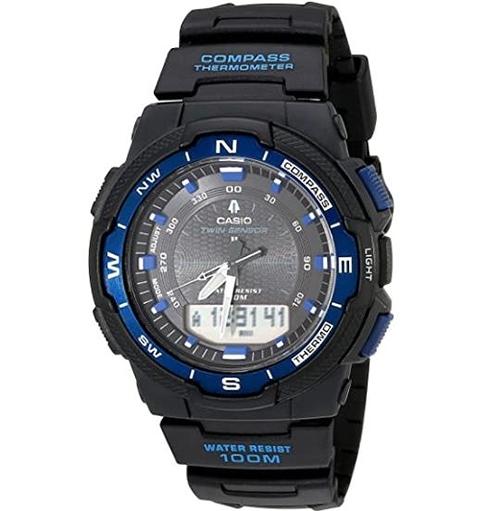 [2美國直購] Casio 男士手錶 Men's SGW500H Multifunction Watch