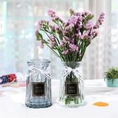 水培玻璃花瓶透明創意擺件歐式插花瓶