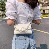 雙11手拿包洋氣質感小包包女2020夏季新款潮韓版網紅百搭手拿手拎包時尚鍊條