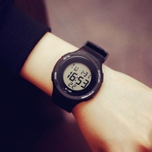 戶外手錶新款電子表日系時尚男女學生戶外登山運動手錶防水多功能跑步鬧鐘愛麗絲