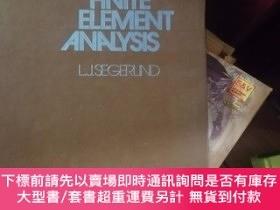 二手書博民逛書店applied罕見finite element analysis 精 館藏Y9837 L J,SEGER