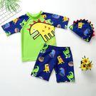 男童泳裝 羽克兒童泳衣男童分體泳褲套裝男孩中大童速干泳裝小寶寶游泳裝備