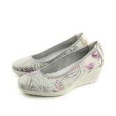 IMAC 厚底鞋 包鞋 義大利製 白色 花朵 女鞋 105632.16085.001 no022