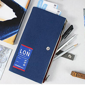 Ultrahard Traveler系列雙拉鍊筆袋-倫敦London-生活工場