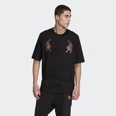 IMPACT Adidas Originals CNY Tee Black 短T 黑 刺繡 老虎 男版 GC8692