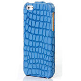 iPhone5S.SE COS酷森正品 格子紋真皮鱷魚紋皮套(第二件1元)