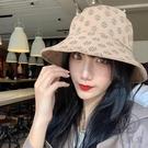 防紫外線漁夫帽女顯臉小韓版百搭雙面戴遮臉...