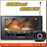 送BENRO MK-10藍牙自拍棒【福笙】GARMIN Nuvi 4695R PLUS Wi-Fi多媒體電視 衛星導航 行車記錄器 附16GB