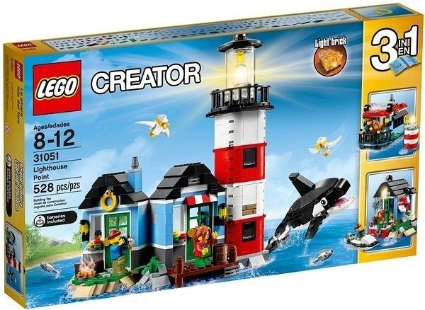 31051【LEGO 樂高積木】創作系列 Creator 燈塔小屋 Building Toy