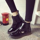 秋冬平底靴子學生厚底女靴機車馬丁靴女英倫風短靴女鞋 奇思妙想屋