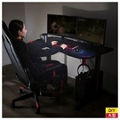 ◆電競桌 辦公桌 電腦桌 WIN 118 BK/RE NITORI宜得利家居