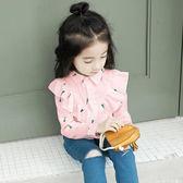 YAHOO618◮女童長袖純棉襯衣 5色 韓趣優品☌