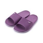 鑽紋Q軟室內拖 紫 女鞋 鞋全家福
