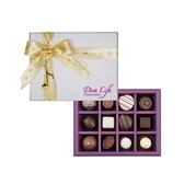 【Diva Life】經典十二入 音樂聖誕版(比利時手工夾心巧克力)