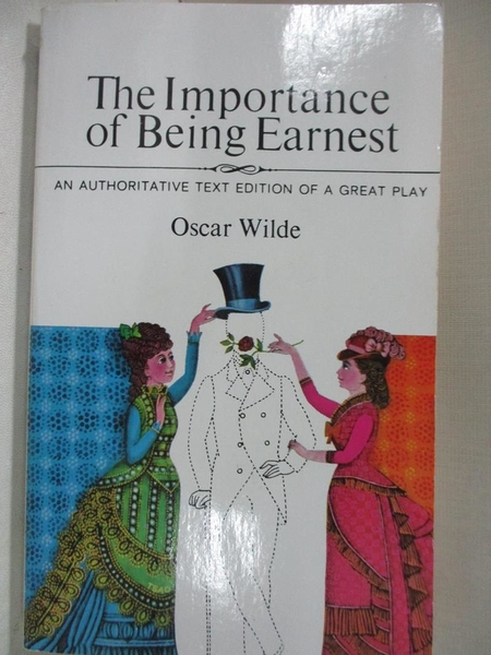 【書寶二手書T1/藝術_BFD】Importance of Being Earnest_Wilde, Oscar