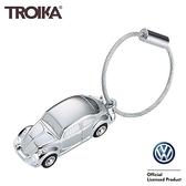 耀您館★TROIKA德國Volkswagen金龜車鑰匙圈KR16-40/CH金龜車手電筒鑰匙圈LED燈鑰匙圈Beetle鑰匙圈金龜車