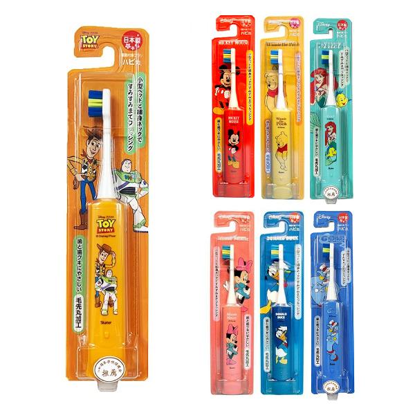 Minimum Hapica 迪士尼兒童電動牙刷-3歲以上適用(7款可選)