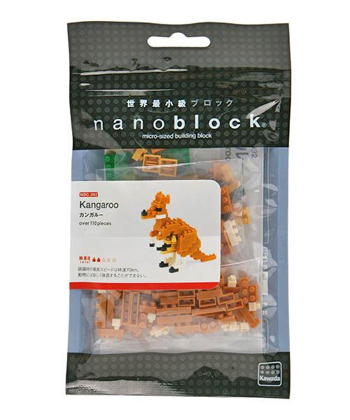 【日本 Kawada 河田】Nanoblock 迷你積木 袋鼠 NBC-092