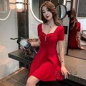 夜 店性感洋裝新款夜場上班衣服氣質女神范夜總店收腰顯瘦裙子 衣櫥秘密