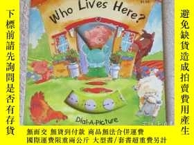 二手書博民逛書店Who罕見Lives Here? (Dail-A-Picture
