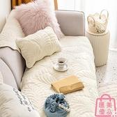 沙發墊簡約坐墊子毛絨面套罩巾蓋布沙發套罩座墊可機洗【匯美優品】