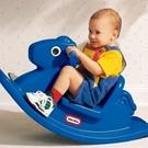 幼之圓 美國Little Tikes飛天搖搖馬藍色搖馬玩具有助於前庭系統前後方向的刺激