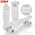小魚板香蕉板青少年公路代步單翹板兒童成人初學者四輪滑板車TA8059【極致男人】