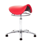 GXG 馬鞍型 工作椅 (鋁合金腳座) 拉環升降款 型號T04 LU1
