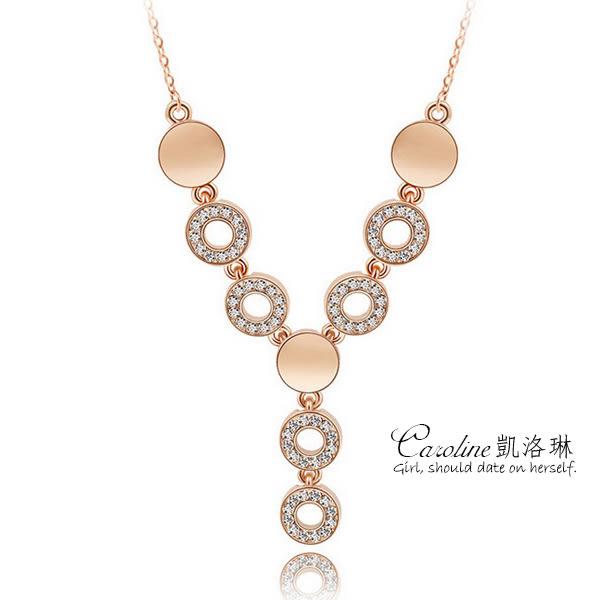 《Caroline》★【幸運心】甜美魅力、高雅大方設計配飾流行時尚項鍊68781