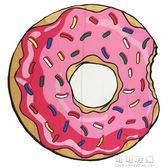 新年禮物 ins少女心房間甜炸天的甜甜圈掛飾裝飾布桌布拍攝背景布牆面掛布 可可鞋櫃