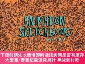 二手書博民逛書店Animation罕見SketchbooksY255174 Laura Heit Chronicle Book
