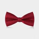 男士新郎紅色西裝領結