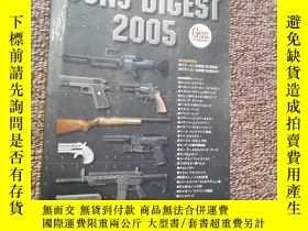 二手書博民逛書店日文原版罕見GUNS DIGEST 2005 2Y15401 出