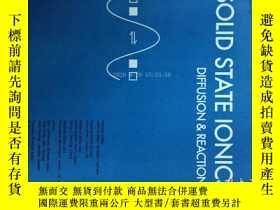 二手書博民逛書店Solid罕見State Ionics Diffusion and Reactions 固態離子2017 10 1