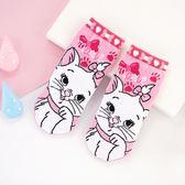 迪士尼系列直版襪童襪 瑪麗貓 襪子 短筒襪
