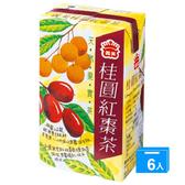 義美桂圓紅棗茶250ml*6入【愛買】