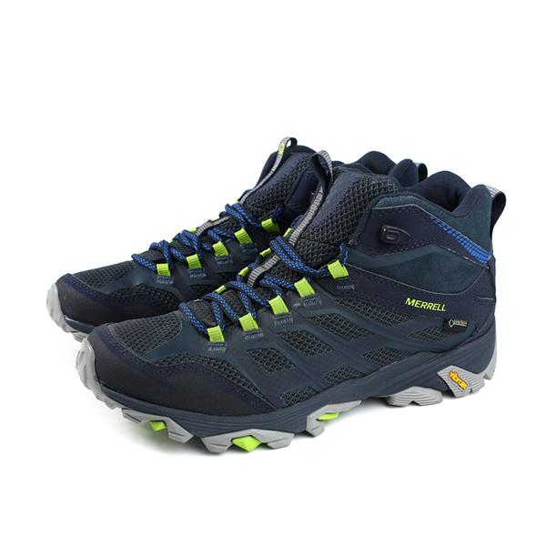 MERRELL MOAB FST MID GORE-TEX 運動鞋 健行鞋 深藍色 男鞋 ML36889 no946
