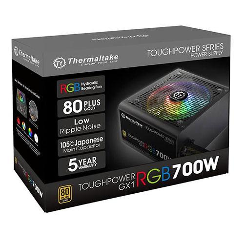 Thermaltake 曜越 Toughpower GX1 RGB 700W 80+ 金牌 直出線 電源供應器 PS-TPD-0700NHFAGT-1