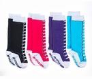 美國 my little legs~ juDanzy 襪子4入組-仿鞋帶 /保暖襪/長統襪/童襪/嬰兒襪