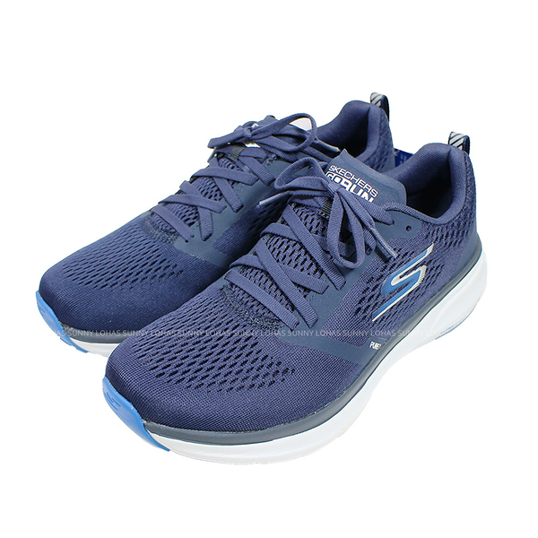 (B5)SKECHERS 男鞋 GO RUN PURE 2 慢跑鞋 運動鞋 固特異橡膠 220204NVBL 藍 [陽光樂活]