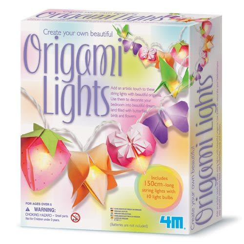 《4M》Creat Your Own Beautiful Origami Lights 閃亮摺紙燈秀
