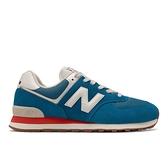 New Balance 男女款藍色運動休閒鞋 ML574HC2