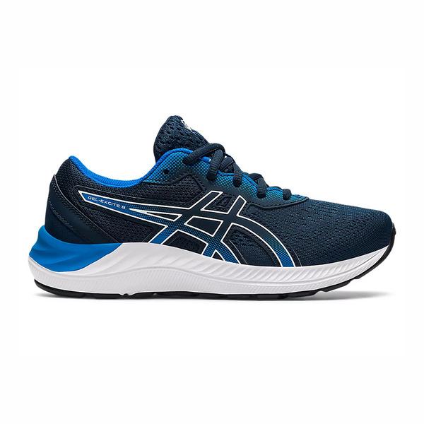 Asics GEL-EXCITE 8 GS [1014A201-411] 大童鞋 慢跑鞋 緩震 輕量 透氣 亞瑟士 深藍