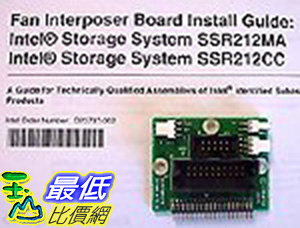[106美國直購] Interposer Board (connects Fan To Backplane) and Installation Guide.